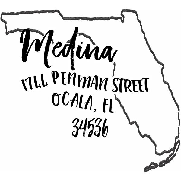Custom Florida Address Stamp