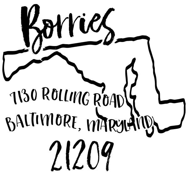 Custom Maryland Address Stamp