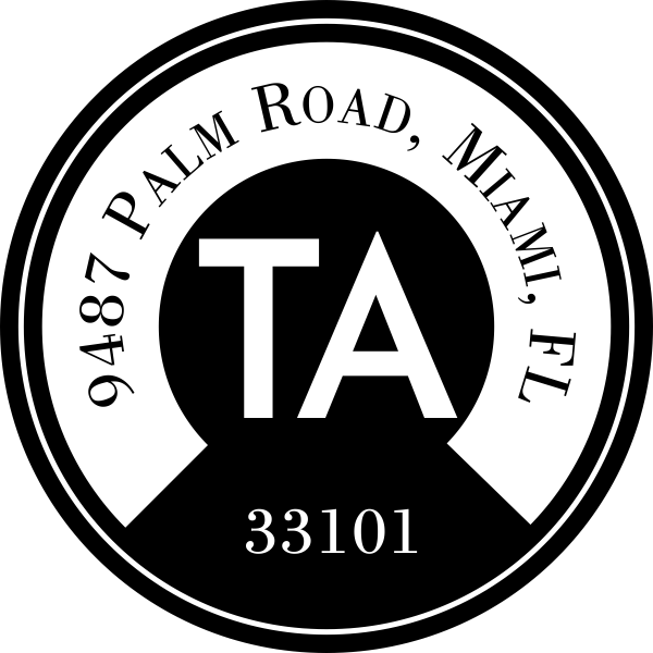 TA Address Stamp