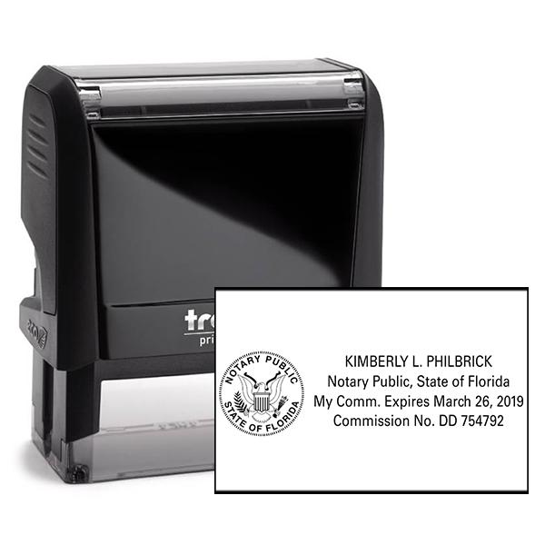 Florida Notary Public Capitol Seal