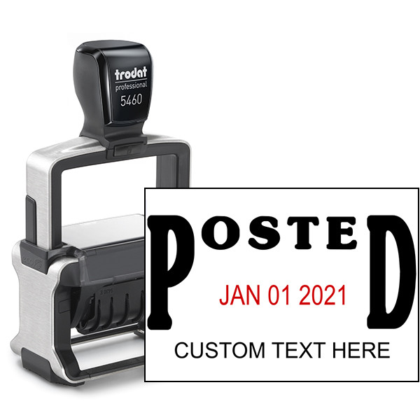 Trodat Professional Posted Date Stamp