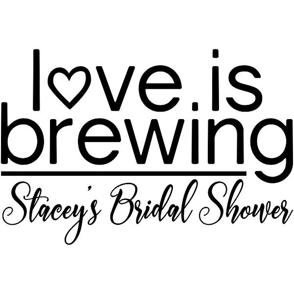 Love is Brewing DIY Wedding Stamp