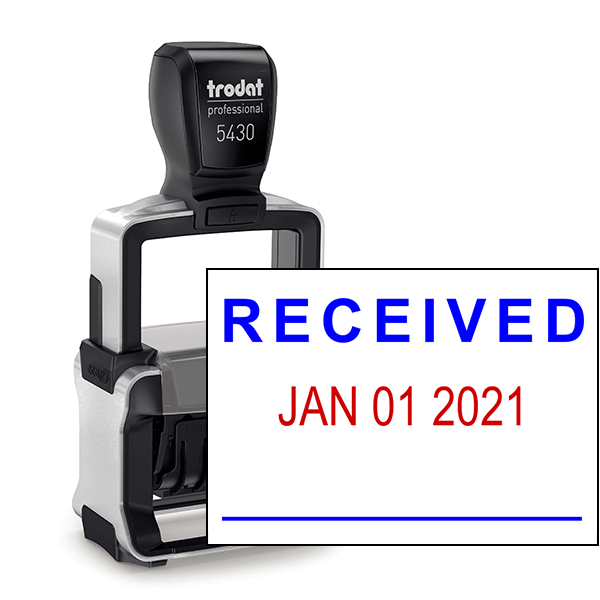 Trodat Professional Received Date Stamp