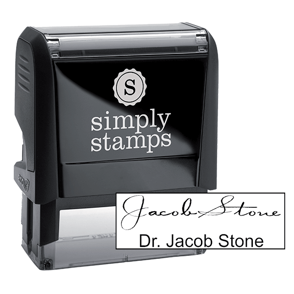 Doctor Signature Stamp - Self-Inking
