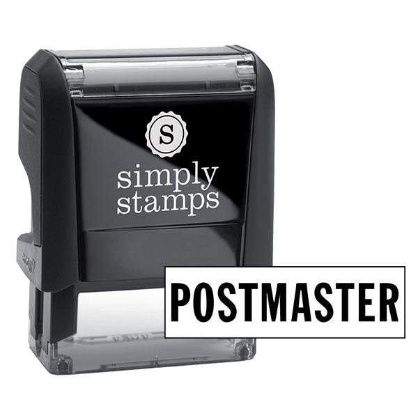 Postmaster Stock Stamp