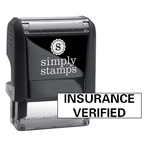 Insurance Verified Sample Stock Stamp