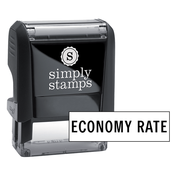 Economy Rate Stock Stamp