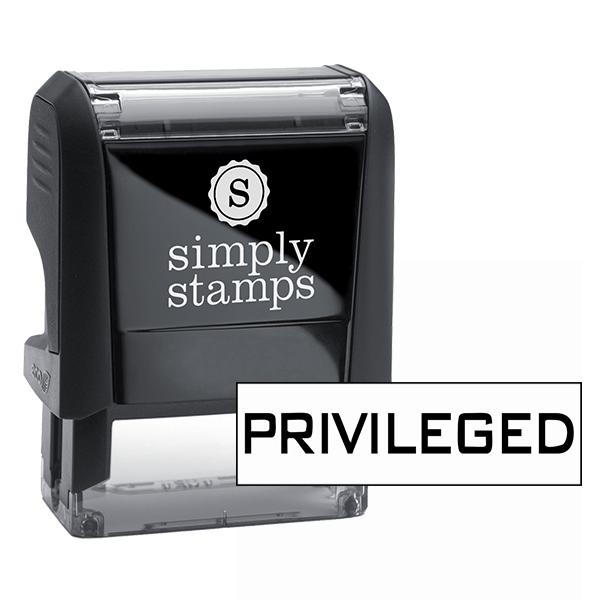 Privileged Stock Stamp