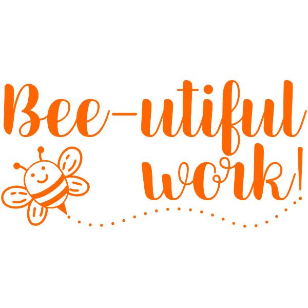 Bumble Bee Pun Teacher Stamp