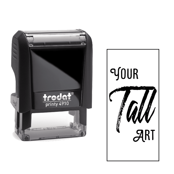 Tall Rectangle Loyalty Stamp