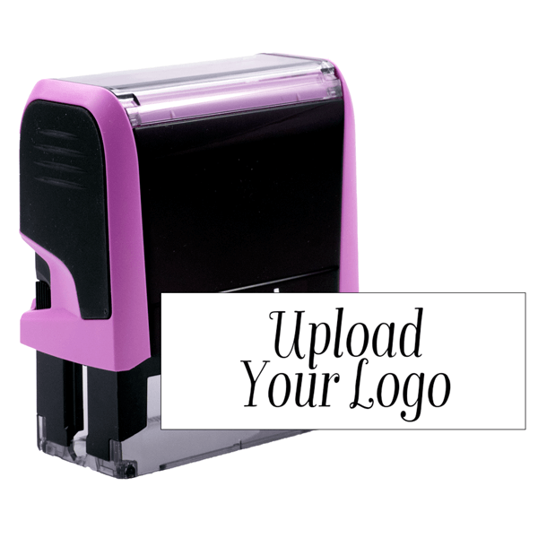 Pink Stamp for Rectangle Logos