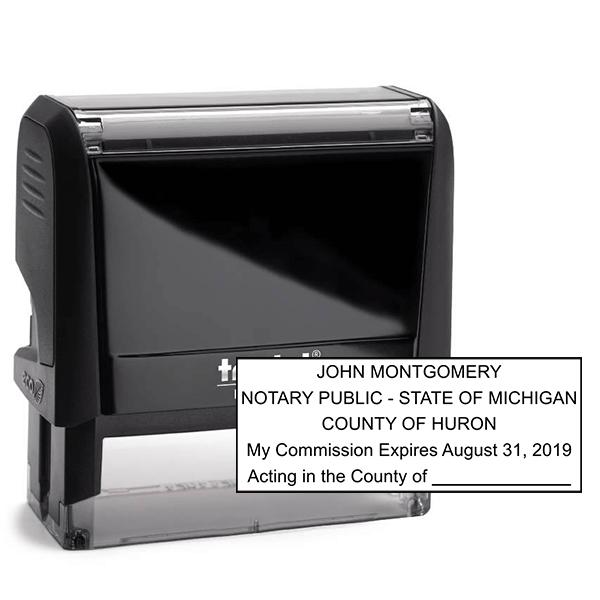 Michigan Notary Seal Stamp