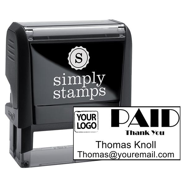 PAID Custom Logo Stamp