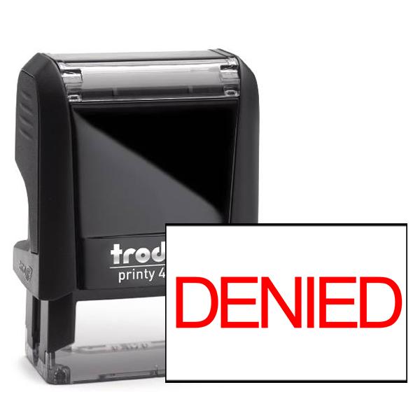 Denied Stock Stamp