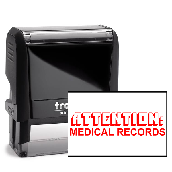 Medical Records Attention Stamp