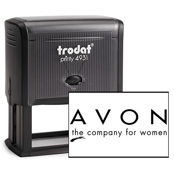 Avon Consultant Logo Stamp