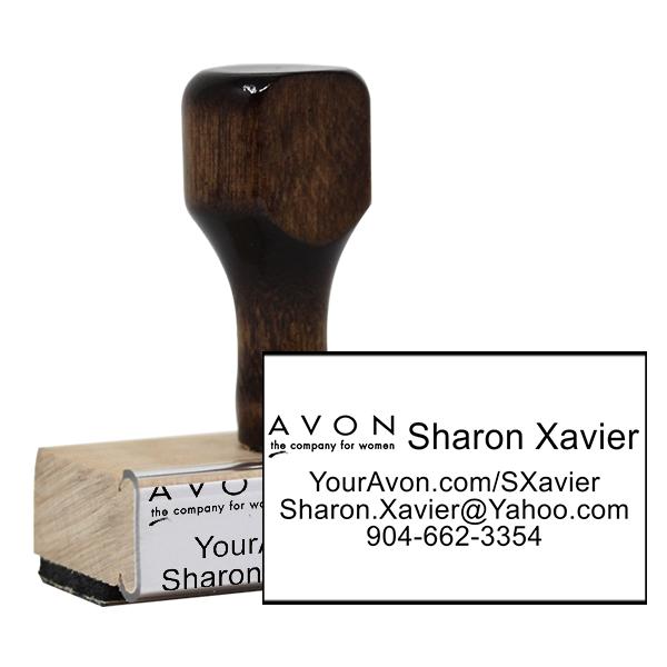 Avon Catalog Stamp Style 5