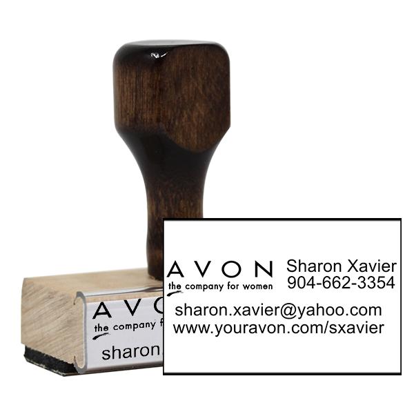 Avon Catalog Stamp Style 9