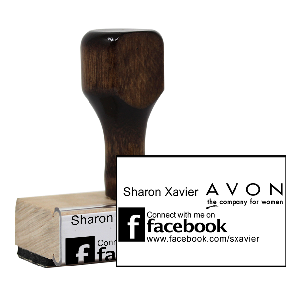 Avon Catalog Stamp Style 11