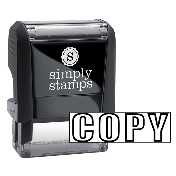 COPY Outlined Stock Stamp