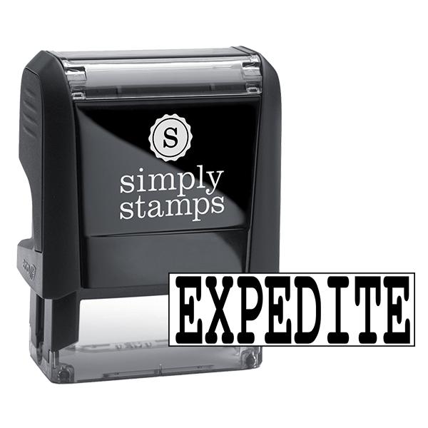 EXPEDITE Stock Stamp