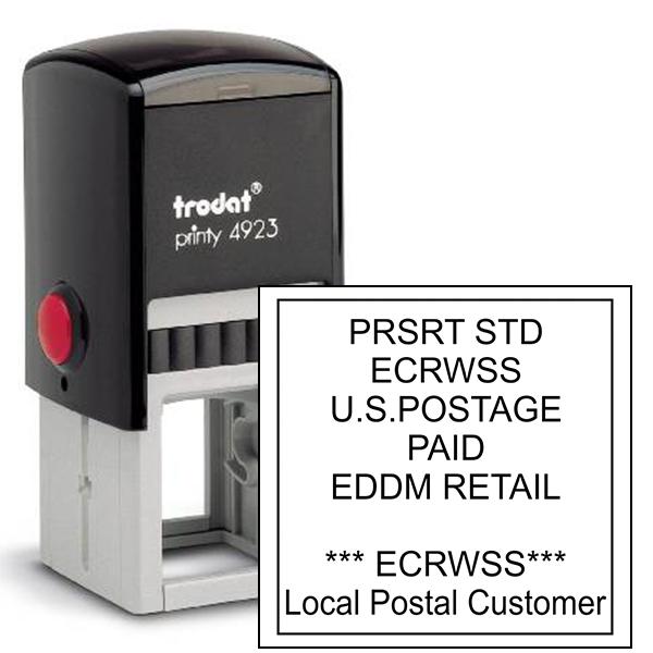 EDDM U.S. Postage Presorted ECRWSS Local Postal Customer Stamp