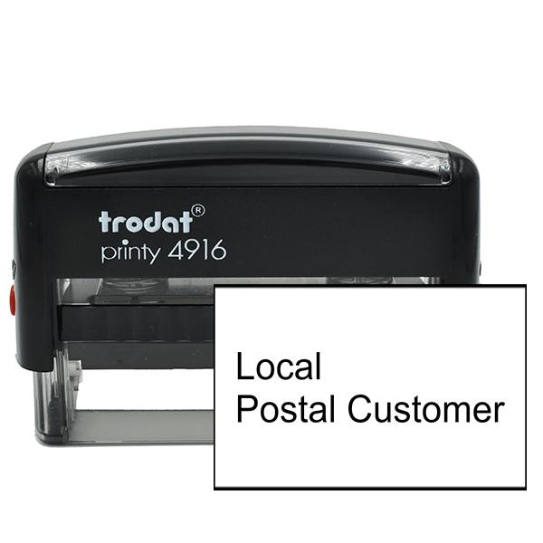 Local Postal Customer Stamp