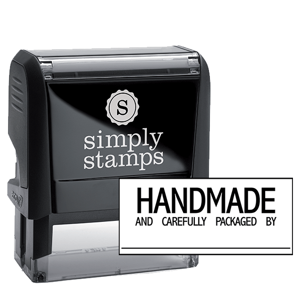 Handmade And Carefully Packaged Signature Line Packaging Stamp