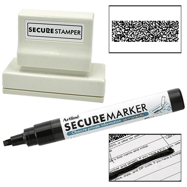 Xstamper Secure Stamper Large Kit