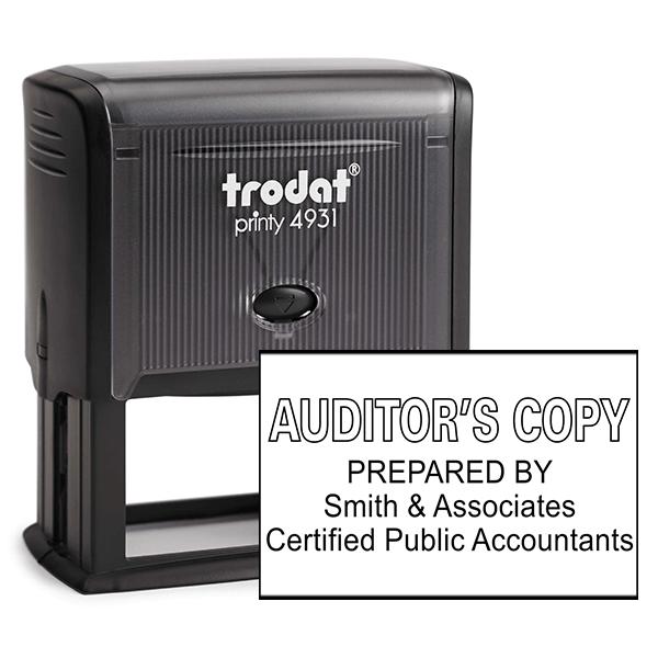 Auditors Copy Stamp Outlined