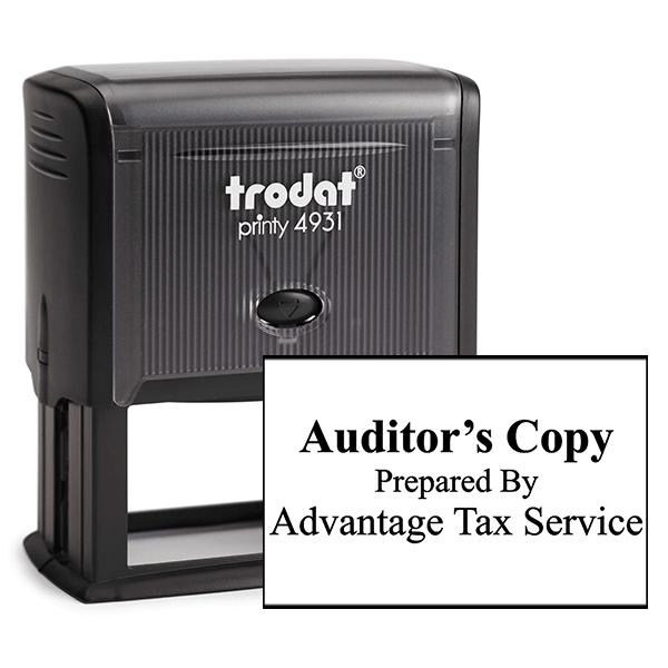Auditors Copy Stamp Bold