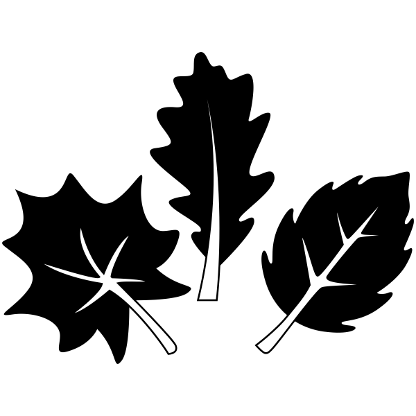 Three Leaves Craft Stamp