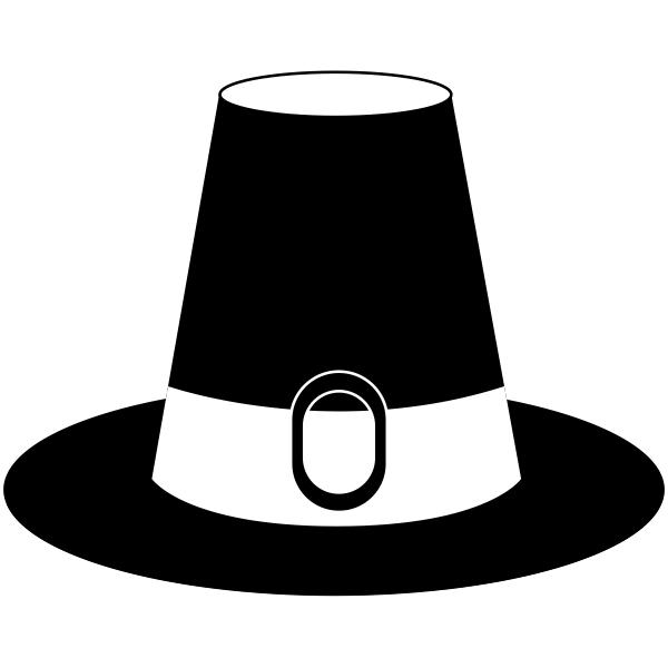 Pilgrim's Hat Craft Stamp