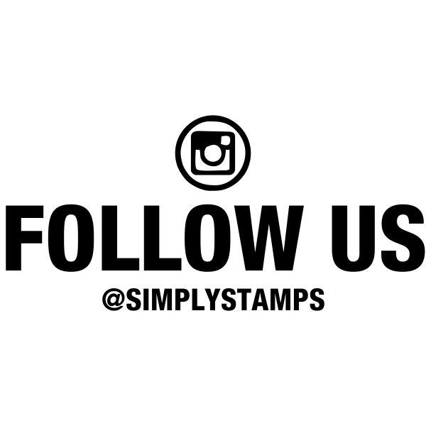 Follow Us On Instagram Handle Stamp