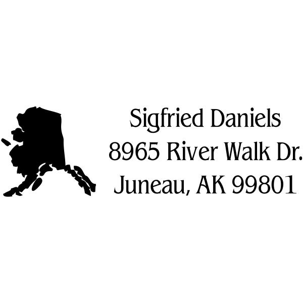 Alaska Return Address Stamp