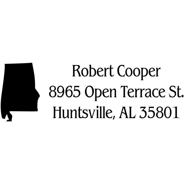 Alabama Return Address Stamp