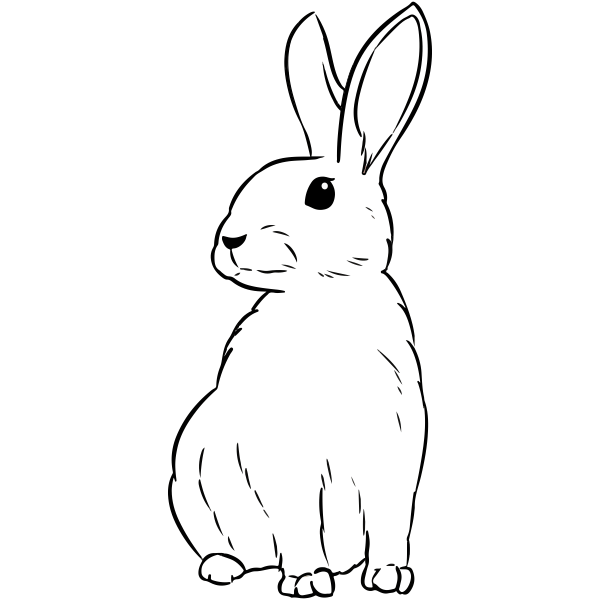 Bunny Craft Stamp