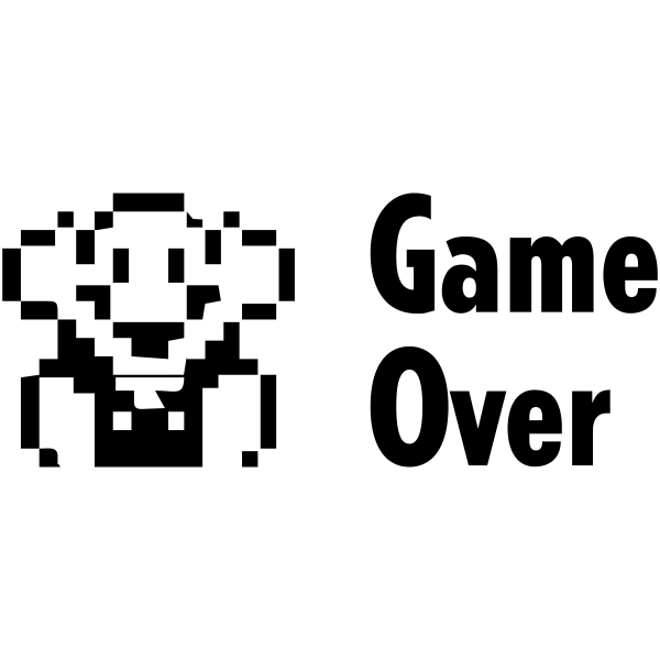 Feedback - Game Over Rubber Teacher Stamp
