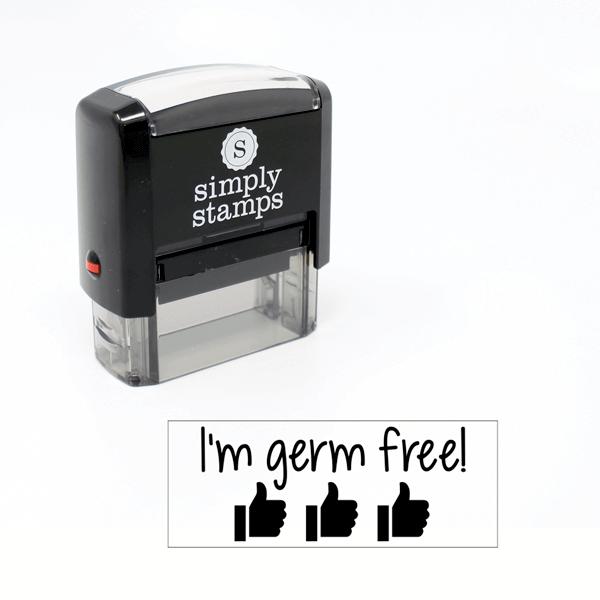 I'm Germ Free Stamp for Teachers
