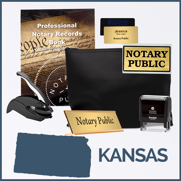 Kansas Deluxe Notary Kit