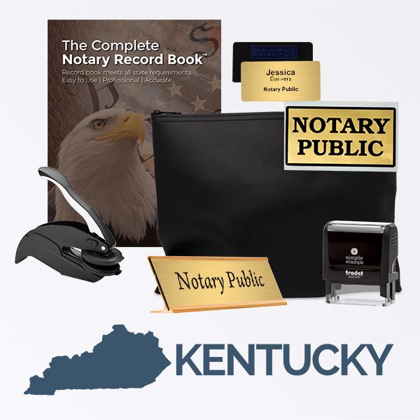Kentucky Deluxe Notary Kit