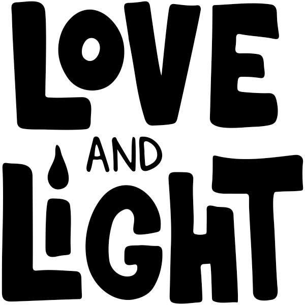 "Love and Light Craft Stamp | 2"" x 2"""