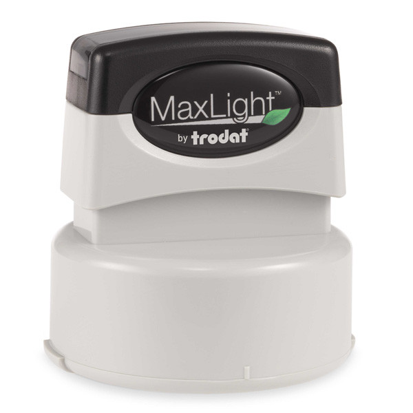 MaxLight Custom Pre-Inked Stamp - MAX-535S - Black Ink