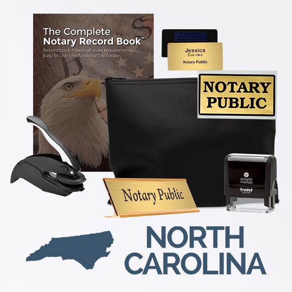 North Carolina Deluxe Notary Kit