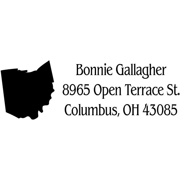 Ohio Return Address Stamp