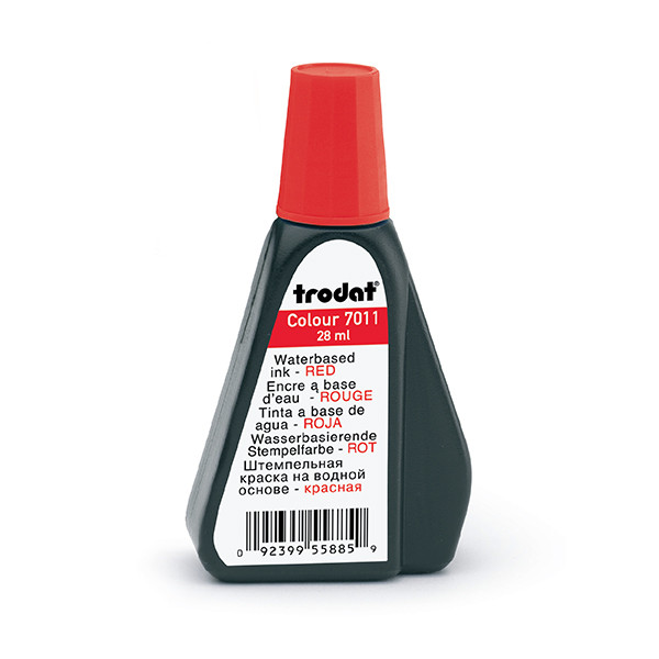 Red 1oz Refill Ink - Self Inking