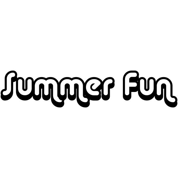 Summer Fun Craft Stamp