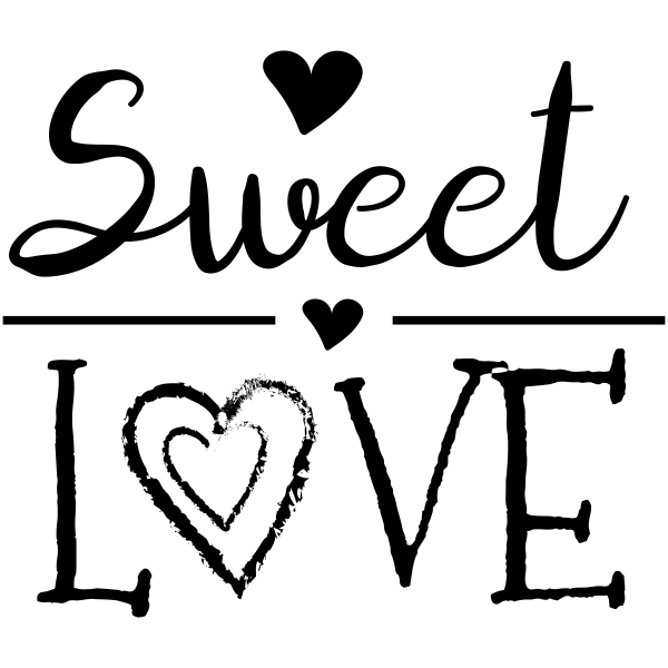 Sweet Love Craft Stamp