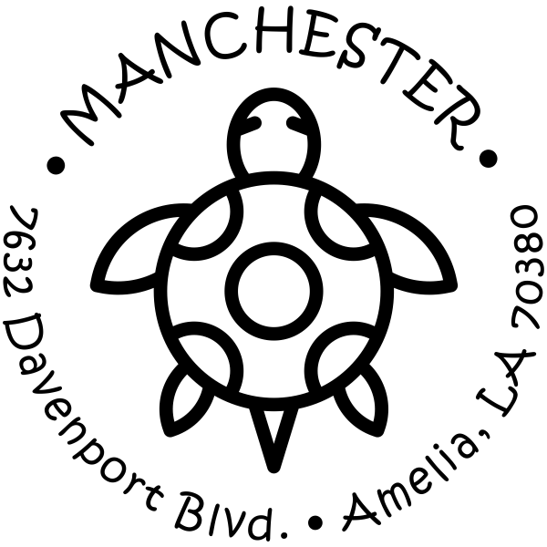 Turtle Return Address Stamp