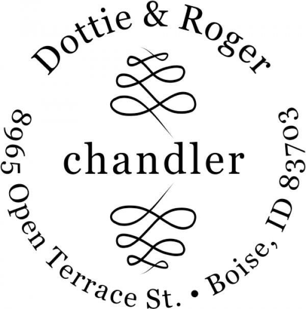 Chandler Deco Custom Address Stamper